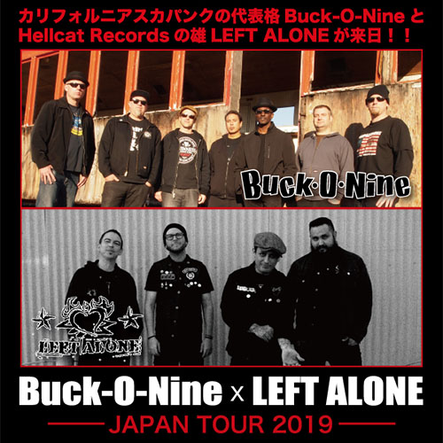 Buck-O-Nine & LEFT ALONE